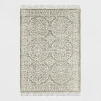Tan Patterned Woven Area Rug - Threshold™