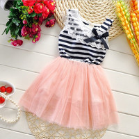 Girls Summer Lace Dress