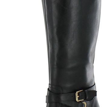 Lauren Ralph Lauren Women's Nally Wide Calf Boots Heel