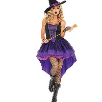 Broomstick Babe Adult Womens Costume - Spirithalloween.com