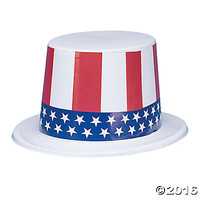 Old Glory Top Hats