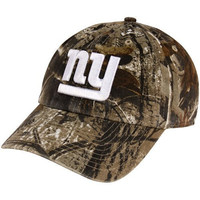 Men's '47 Brand New York Giants Realtree� Clean Up Slouch Adjustable Hat Adjustable
