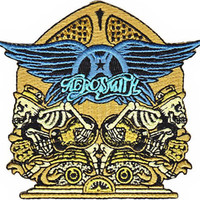 Aerosmith Iron-On Patch Radio Skellys Logo