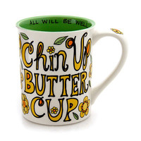 Chin Up Buttercup Mug - Our Name is Mud by Lorrie Veasey | eBay