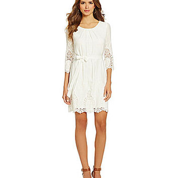 Gianni Bini Laura Dress - Ivory White