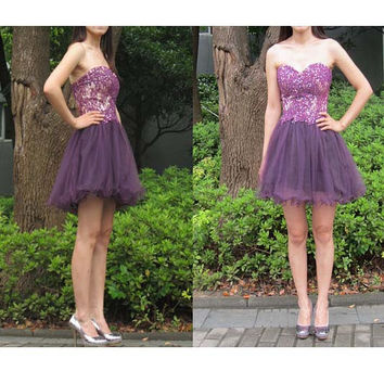 Short Homecoming Dresses pst0159