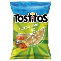 Tostitos Hint Of Lime Tortilla Chips - 13oz