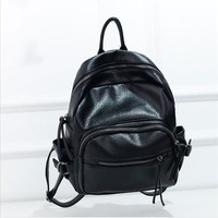 Hot Deal On Sale College Casual Back To School Comfort Bags Korean Soft Rinsed Denim Stylish Backpack [6580918855]