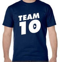Men's T Shirt Team 10 Cool Trendy Tshirt