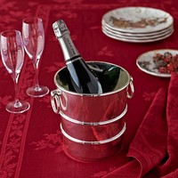 Presidio Silver Plated Ice Bucket
