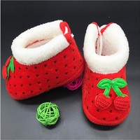 Baby Shoes Fruit Boots winter