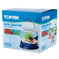 Top Fin® LED Light Betta Bowl Kit | Aquariums | PetSmart
