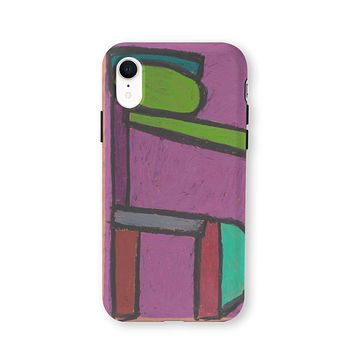 Forms on Purple iPhone Cover