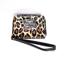 Loungefly – Hello Kitty Leopard Embossed Smartphone Wristlet In Leopard | Thirteen Vintage