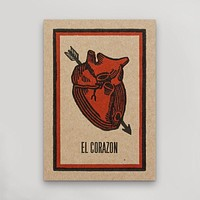 El Corazon Postcard