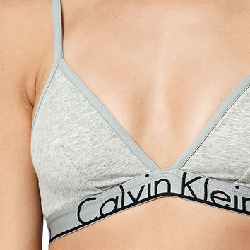 Calvin Klein ID Large Waistband Triangle Bralette at PacSun.com