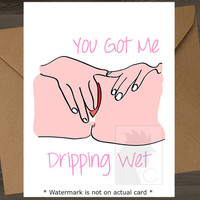 Funny Valentine Card //Mature\\ Valentines Day Card Card For Boyfriend Card For Husband Blowjob Blowjob Card I Love You Card For Girlfriend