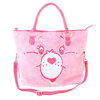 IRON FIST CARE BEARS FUZZY OVERSIZED TOTE BAG