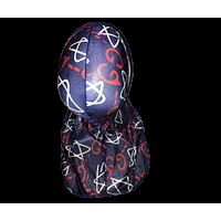 High Quality Silky Satin Kings and Queens Durags For Men and Woman
