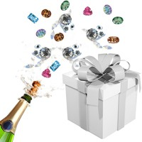 Evelots Jewelry Mystery Surprise Box, 3 Pieces in Set (Retail Value $60)