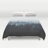 High And Low Duvet Cover by Tordis Kayma