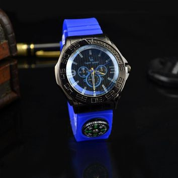 Awesome Trendy Great Deal Stylish Gift Good Price New Arrival Designer's Hot Sale Men High Quality Silicone Outdoors Travel Watch [8863745031]