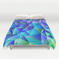 Geometric No. 7 Duvet Cover by House of Jennifer