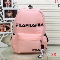 FILA 2018 new men and women with the same paragraph fashion wild shoulder bag F-XS-PJ-BB Pink