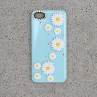 Light Blue Daisy Case
