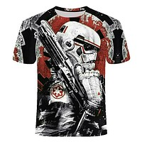 Newest 3D Printed Star Wars T Shirt Men Women Summer Short Sleeve Funny Top Tees Fashion Casual Clothing Dropshiping