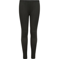 Just One Cable Knit Girls Leggings Black One Size For Women 24893910001