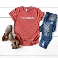 Blessed | Short Sleeve Graphic Tee