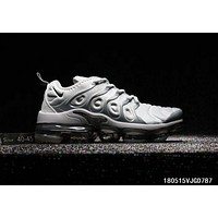 NIKE AIR VAPORMAX PLUS 2018 new cushioned running shoes F-A0-HXYDXPF White