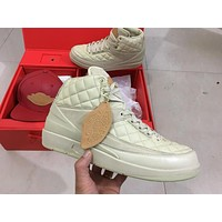 Don C X Air Jordan 2 Beach Men Basketball Shoes