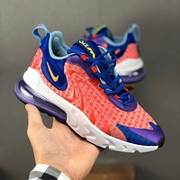 Nike Air Max 270 React Multi Color Red Running Shoes - Danny Online