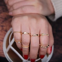 Fashion Ring Stylish 7Pcs/Set [10873091919]