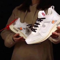PEAP9IW OFF - WHITE × Nike Zoom Fly 4ï¼? Running Shoes