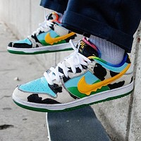 Nike SB Dunk Low Ben & Jerry's Chunky Dunky Newest Women Men Personality Sport Shoes Sneakers