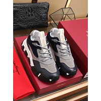 FERRAGAMO  Women's Men 2020 New Fashion Casual Shoes Sneaker Sport Running Shoes