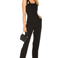 BCBGeneration Cut Out Jumpsuit in Black