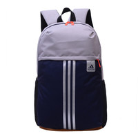 """Adidas"" Fashion Casual Male Female Student High Capacity Canvas College Winds Hit Color Backpack"