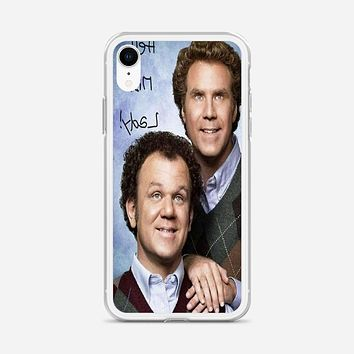 Step Brothers Costume iPhone XR Case