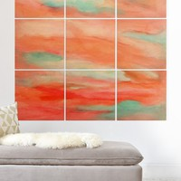 Rosie Brown Sunset Sky Wood Wall Mural