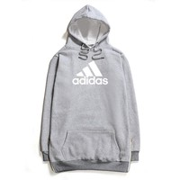 ADIDAS flame men and women long sleeve sets
