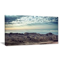 Daybreak on the Mountains Canvas Wall Art Print