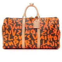 Tagre™ ONETOW Louis Vuitton Sprouse Keepall Bag (Previously Owned)
