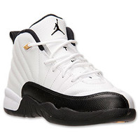 Boys' Preschool Air Jordan Retro 12 Basketball Shoes