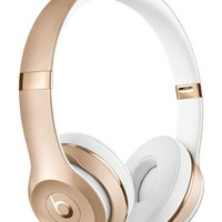 Beats by Dr. Dre Gold Beats Solo 3 On-Ear Wireless Headphones