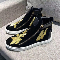 Giuseppe Zanotti Women's Suede Leather Fashion High Top Sneakers Shoes