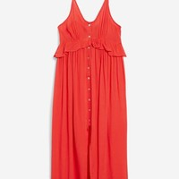 Button Through Midaxi Dress - New In Fashion - New In